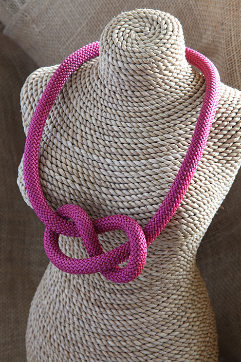 Image of Figure of Eight Necklace