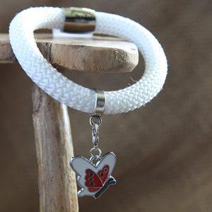 Image of Butterfly Charm Bracelet